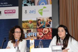 Ana Asti Fairer handel bleibt ihre Mission ob innerhalb oder außerhalb der Institutionen