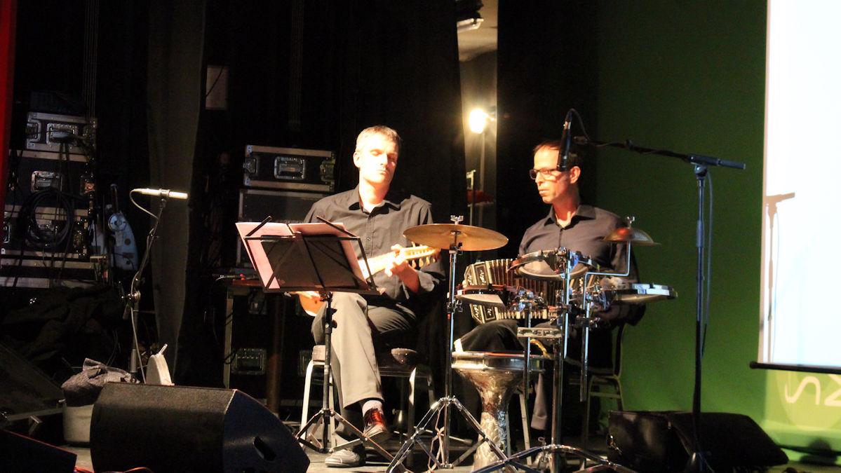 Musikalische Intermezzos mit Flöte, Quinterne, Bandoneon und Percussion. Foto: MISEREOR/Wagner