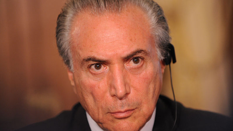 Michel Temer © Foreign and Commonwealth Office