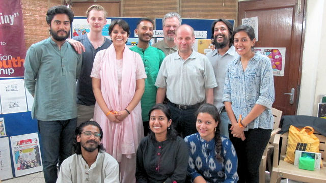 Pirmin Spiegel auf Projektbesuch in Indien
