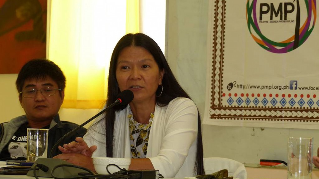 Yoly Esguerra, Nationale Koordinatorin des Philippine-Misereor-Partnership Inc. (PMPI) © MISEREOR