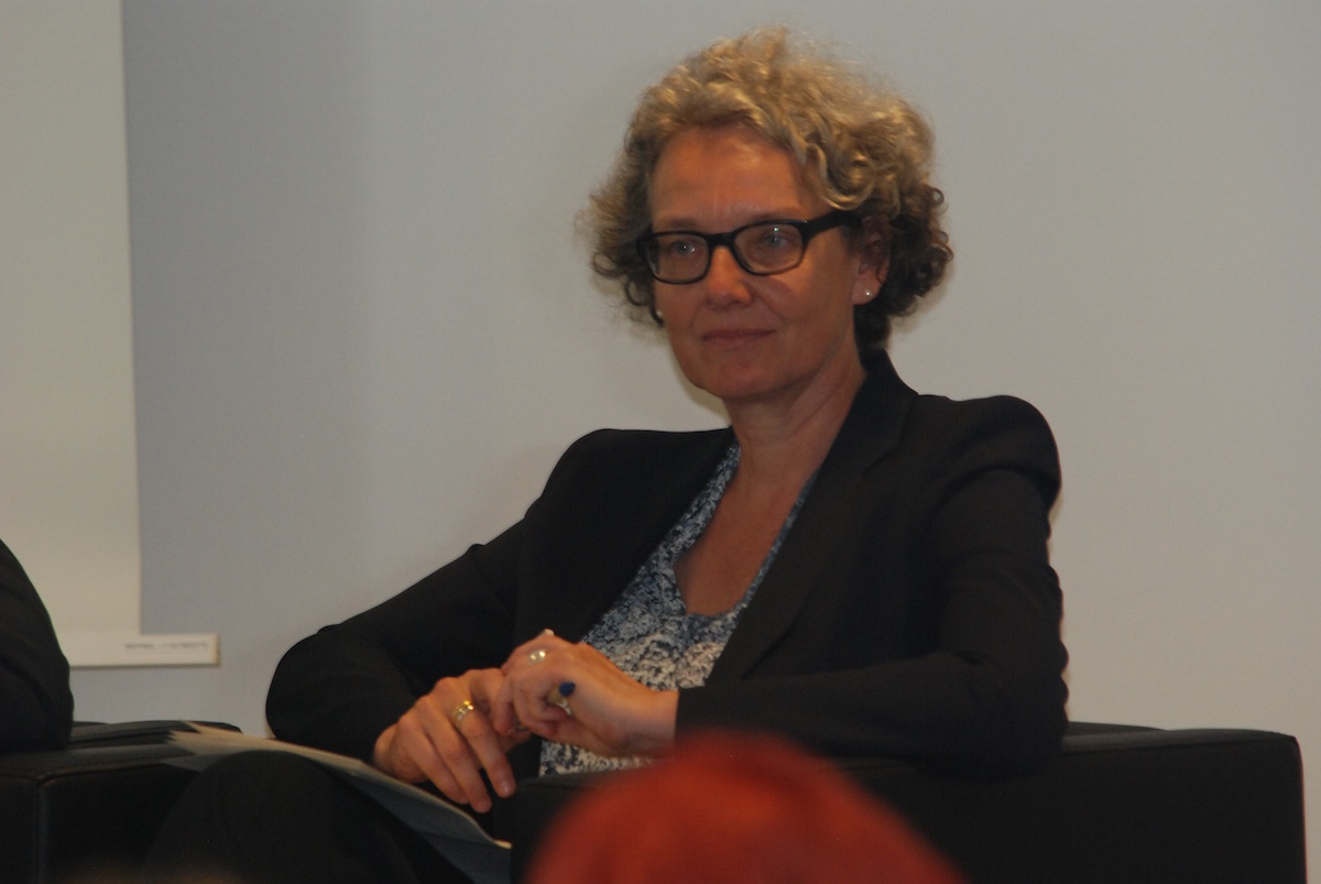 Hoffnung, dass den Worten Taten folgen: Dr. Christiane Averbeck, Geschäftsführerin der Klima-Allianz Deutschland. Foto Brodbeck/ MISEREOR