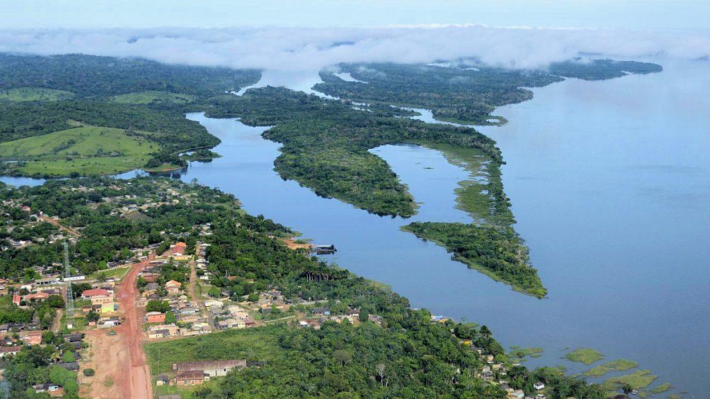 Auch die kleine Stadt Mirituba droht in den Fluten des Riesenstaudamms am Tapajós unterzugehen.