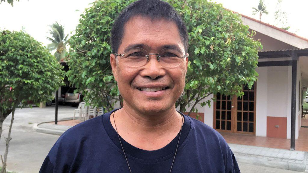 Pater Bert Layson engagiert sich seit vielen Jahren für interreligiöse Verständigung auf Mindanao ©Thomas Kuller/MISEREOR