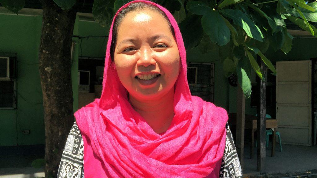 Raissa Jajurie arbeitet für die Bangsamoro Transition Commission (BTC) ©Thomas Kuller/MISEREOR
