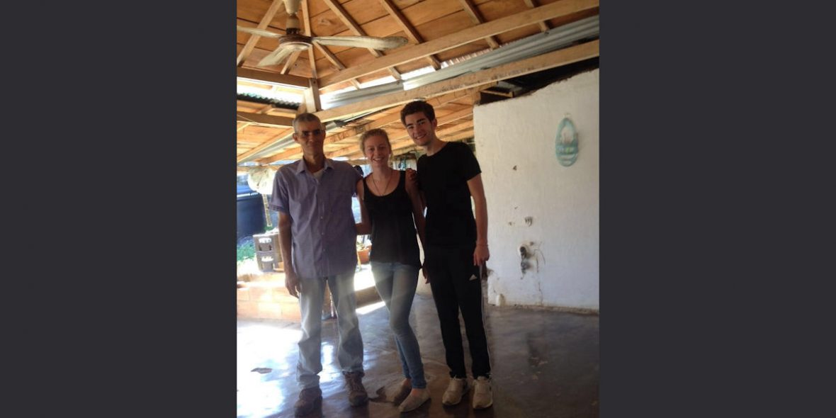 Senor Rubén, Johanna und Felix