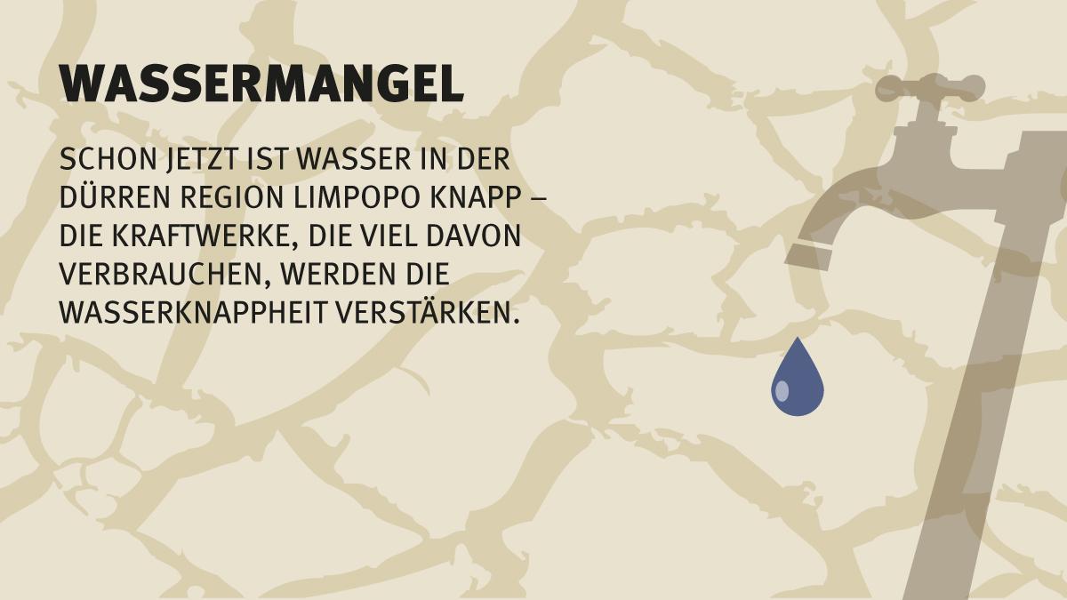Wassermangel in Südafrika