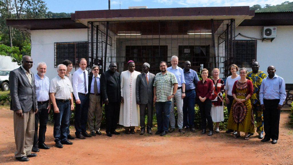 Die Delegation traf in der ZAR Mitglieder der von MISEREOR geförderten interreligiösen Plattform ©Maria Klatte/MISEREOR
