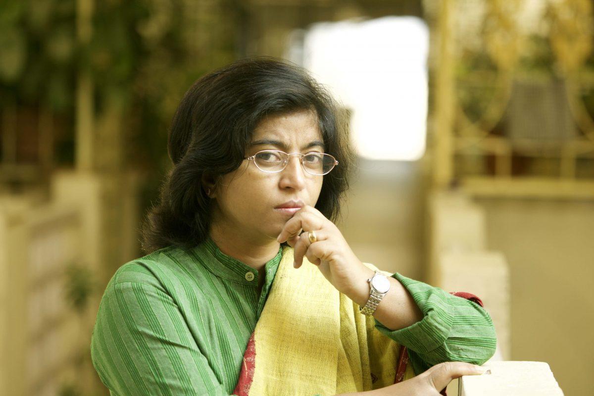 Setzt sich unermüdlich und allen Widerständen zum Trotz gegen Zwangsprostitution und Menschenhandel ein: Sunitha Krishnan, indische Frauenrechtsaktivistin und seit 2005 Projektpartnerin von MISEREOR. Foto: Prajwala