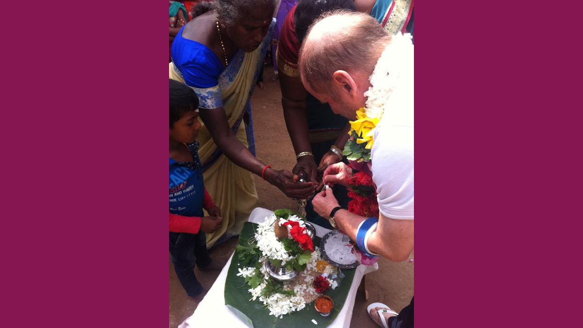 Pirmin Spiegel, Hauptgeschäftsführer von MISEREOR besucht Partnerorganisationen in Sri Lanka. Foto: MISEREOR