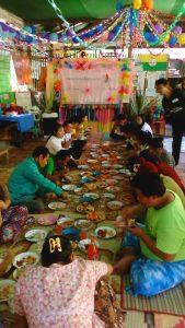 Festmahl zur Neujahrsfeier