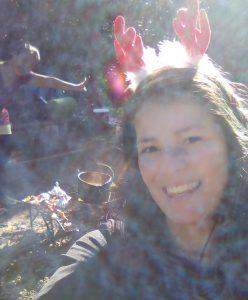 Lagerfeuer und Weihnachtskitsch