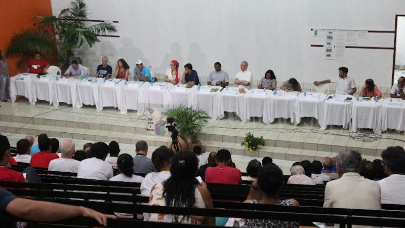 """Seminar """"Laudato Si"""" des kirchlichen Netzwerkes REPAM in Altamira"""