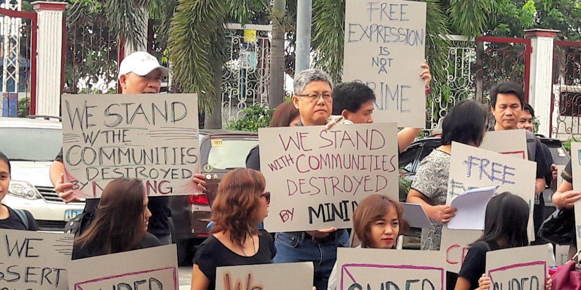 Projektpartner von MISEREOR in den Philippinen wehren sich gegen die Verleumdungsklage eines Bergbaukonzerns. © Elmar Noé / MISEREOR