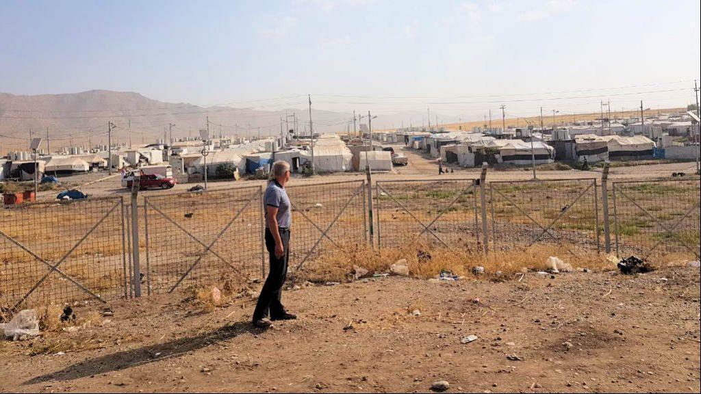 Flüchtlinglager im Norden des Irak
