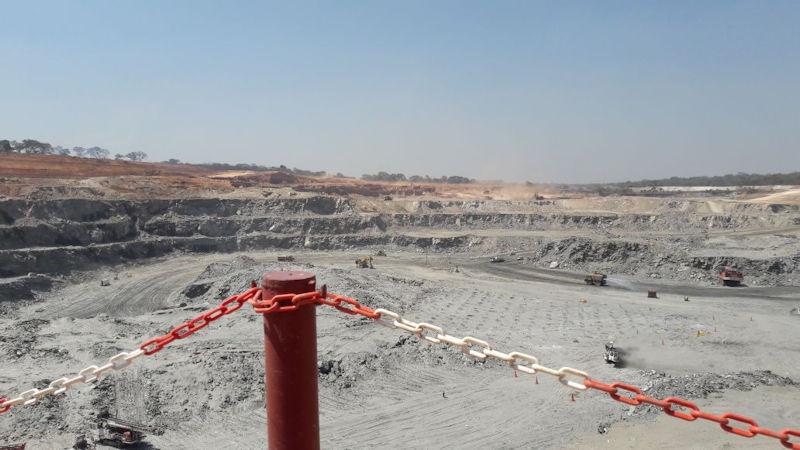 Mine in Sambia
