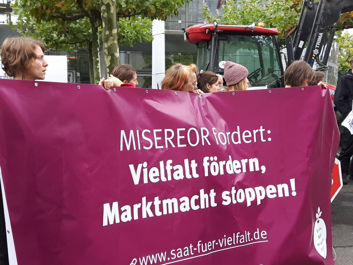 MISEREOR fordert: Vielfalt fördern, Marktmacht stoppen!
