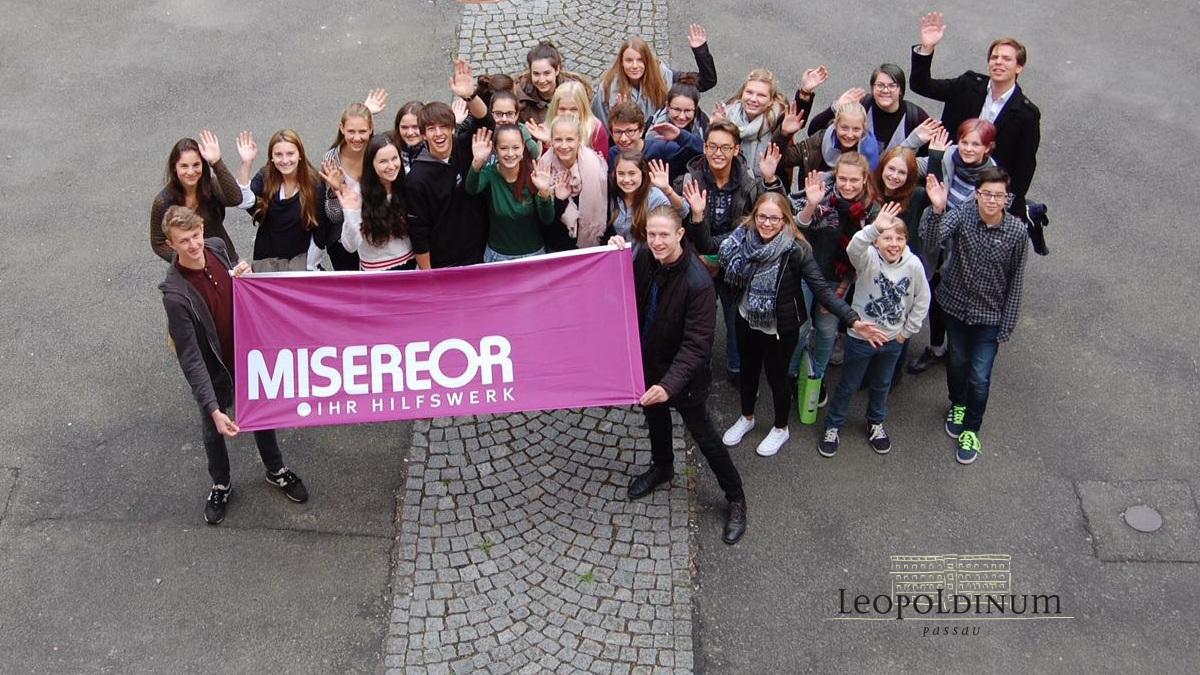 Das MISEREOR-Team am Gymnasium Leopoldinum Passau