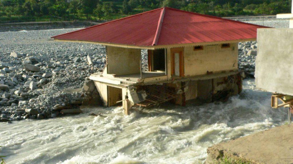 Der Monsun bringt in Pakistan immer häufiger Flutkatastrophen und Erdrutsche. © Rupp / MISEREOR