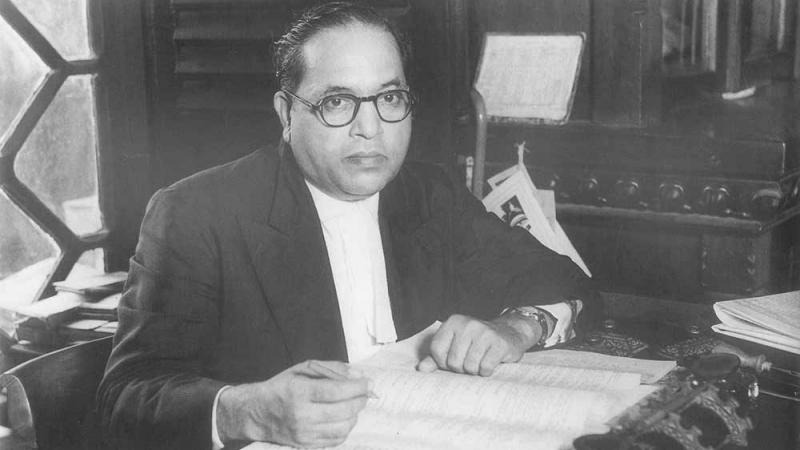 Bhimrao Ramji Ambedkar © gemeinfrei. wikimedia