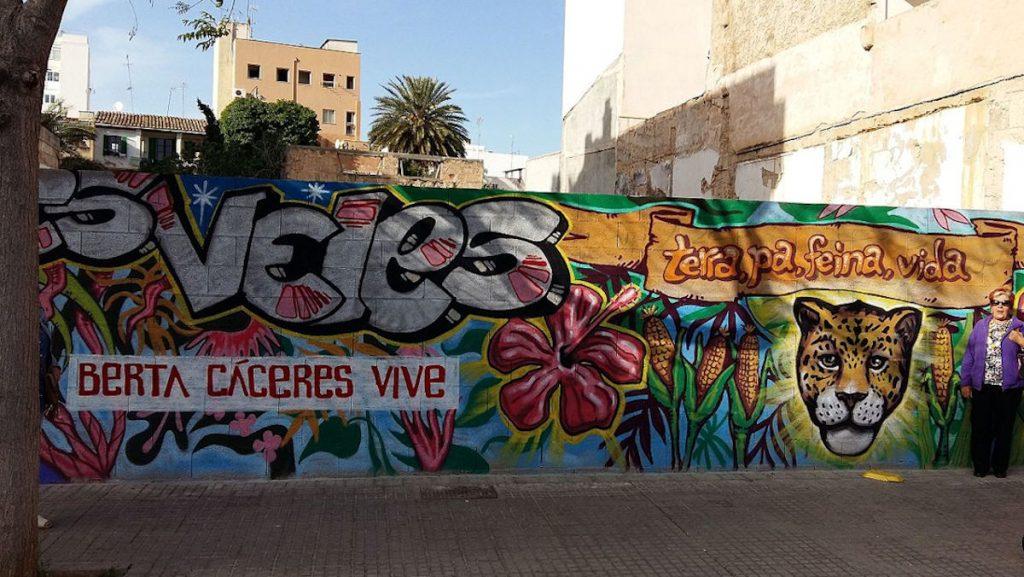 Hommage an Berta Cáceres in Palma, Spanien © Chixoy/www.wikipedia.de