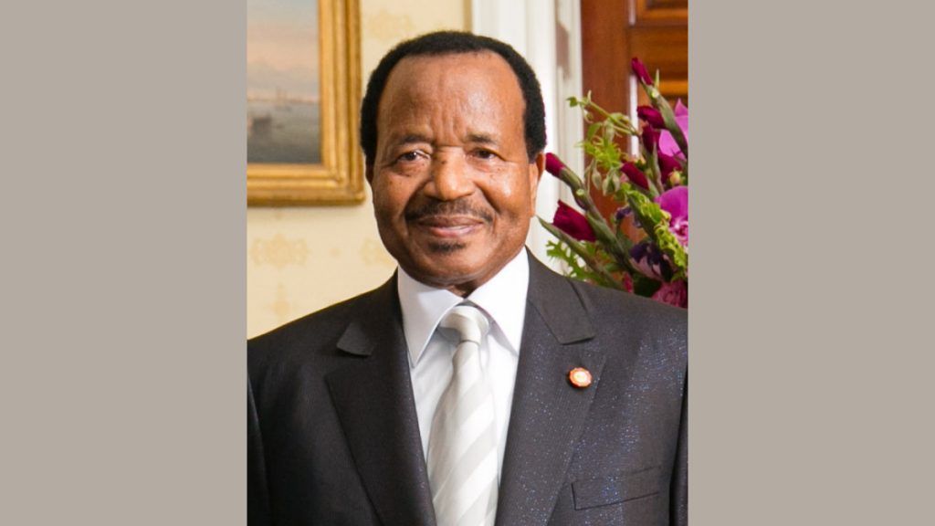 Paul Biya © By Amanda Lucidon White House Public domain via Wikimedia Commons