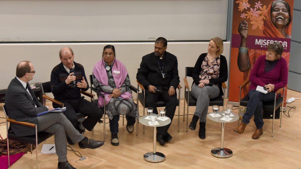 Teilnehmer der Podiumsdiskussion © Wolfgang Radtke / MISEREOR
