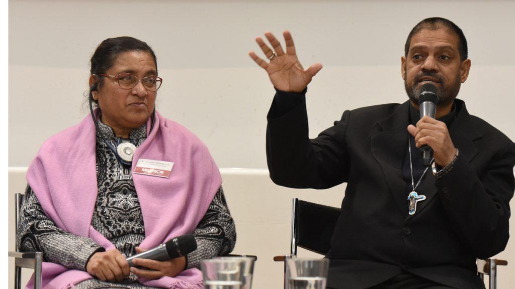 Bischof Theodore Mascarenhas, S.F.X. Generalsekretär der indischen Bischofskonferenz CBCI © Wolfgang Radtke / MISEREOR