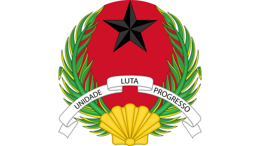 Emblem des Staates Guinea-Bissau© By DzWiki [CC BY-SA 3.0 creativecommons.org/licenses/by-sa/3.0)], from Wikimedia Commons