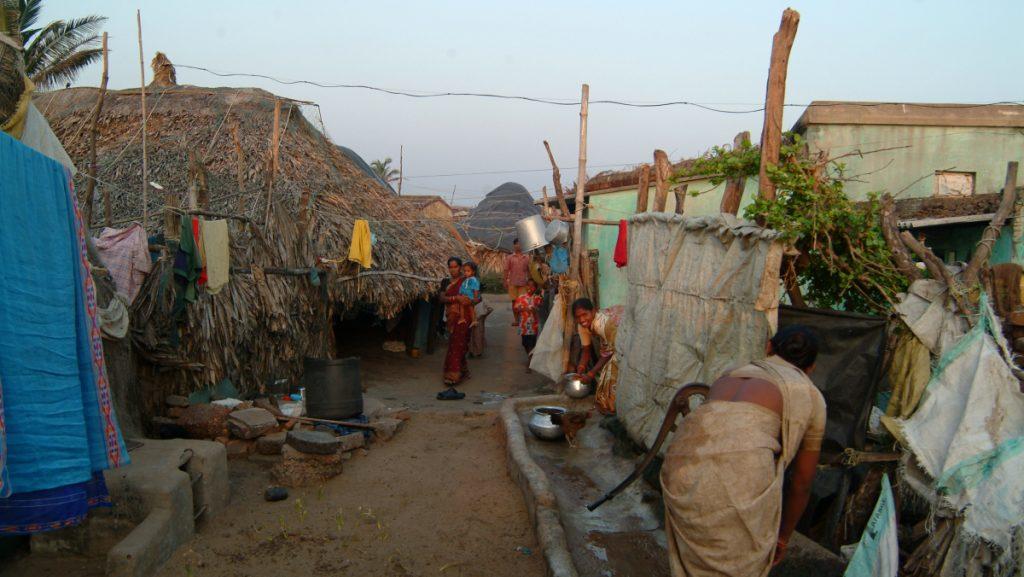 Dorfgemeinschaft in Orissa / Indien © Michael Mondry