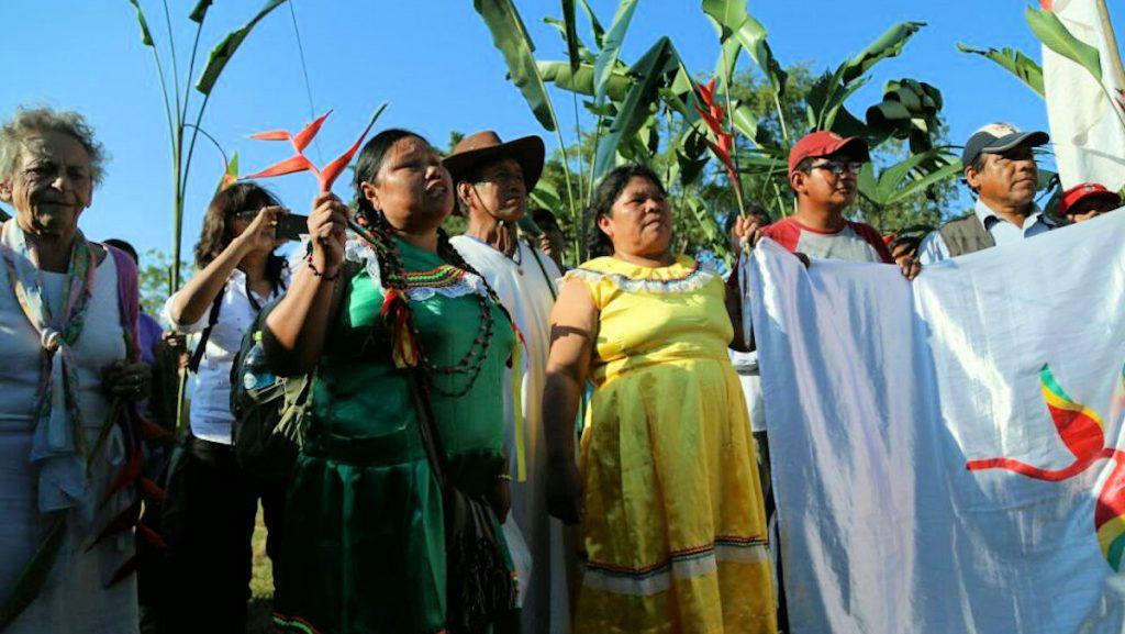 In Bolivien kämpfen Indigene um den Erhalt des Nationalparks TIPNIS. Foto: Coordinadora de Defensa de los Territorios