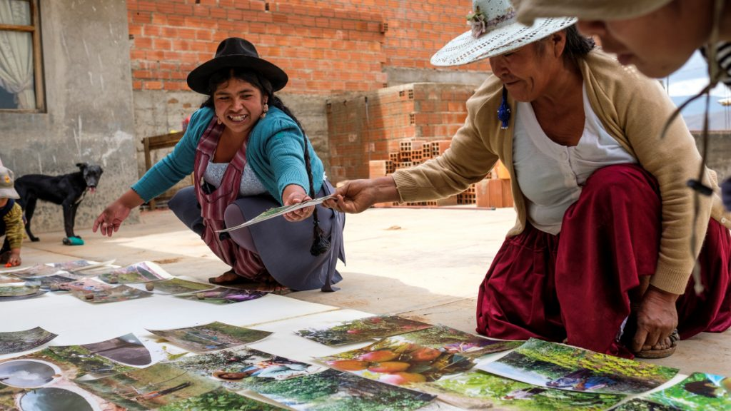 Der Misereor-Partner Agroecologiay Fe in Cochabamba unterstützt Frauengruppen sowohl in der städtischen Landwirtschaft als auch auf dem Lande. © Eduardo Soteras Jalil | MISEREOR