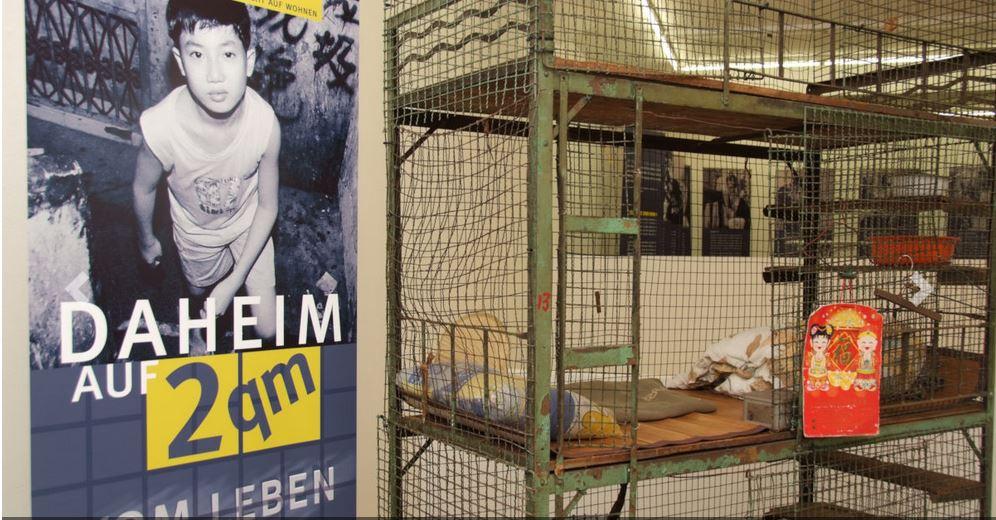 Ausstellung zum Menschenrecht auf Wohnen