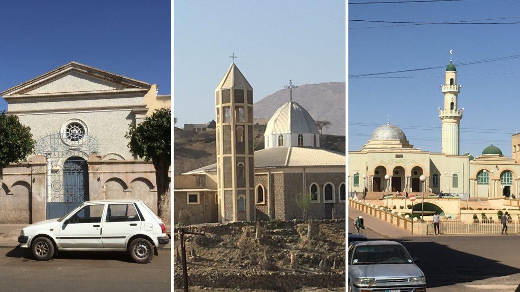 Religiöse Bauwerke in Eritrea. © Peter Meiwald | MISEREOR