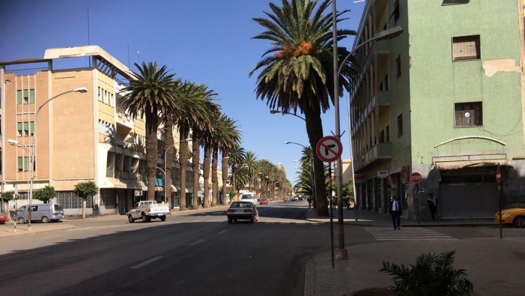 Asmara, die Hauptstadt Eritreas, wirkt sehr ruhig, beschaulich, etwas verschlafen, sehr sauber. © Peter Meiwald | MISEREOR