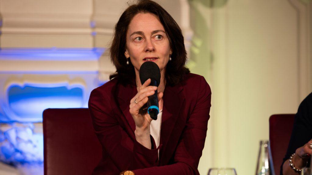 Katarina Barley, Spitzenkandidatin der SPD für die Europawahl 2019 © Esteve Franquesa