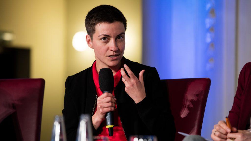 """Ska Keller, Spitzenkandidatin der Partei """"Die Grünen"""" für die Europawahl 2019 ©  Esteve Franquesa"""