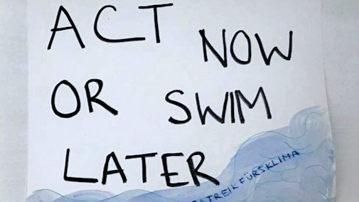 Act now or swim later