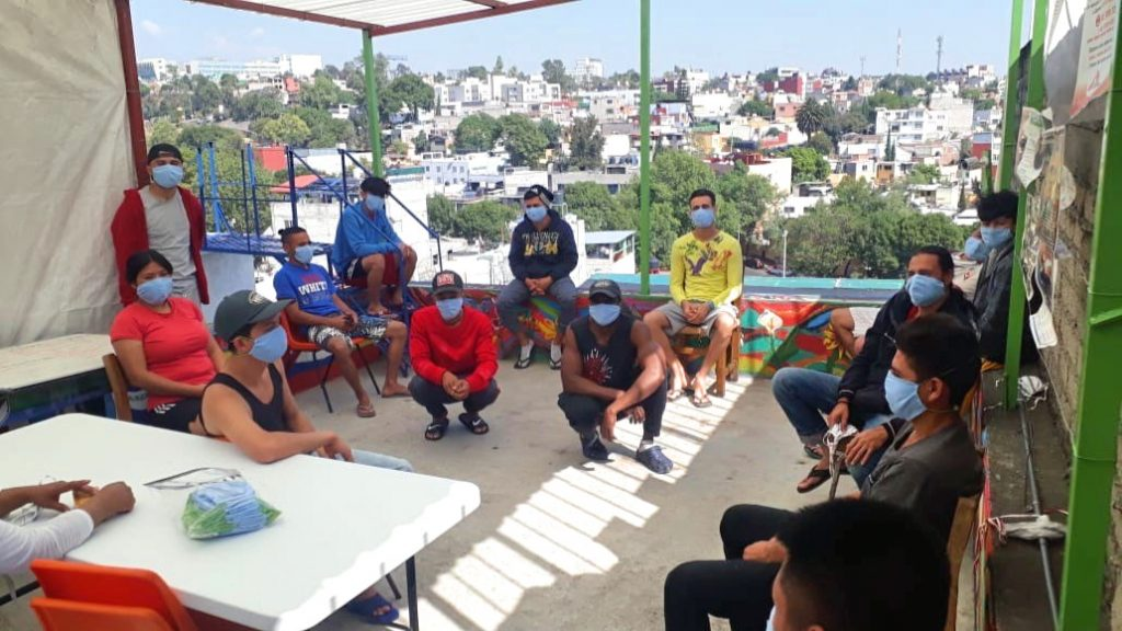 Migrantenherberge Casa Mambré der MISEREOR-Partnerorganisation der Scalabrianerinnen