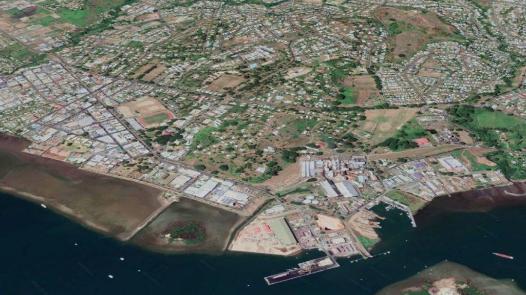 Die Stadt Lautoka mit etwa 44.000 Einwohnern wurde wenige Tage nach dem ersten Fall von COVID-19 gesperrt