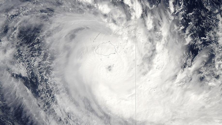 Fidschi wurde kurz nach dem Lockdown von Zyklon Harold heimgesucht