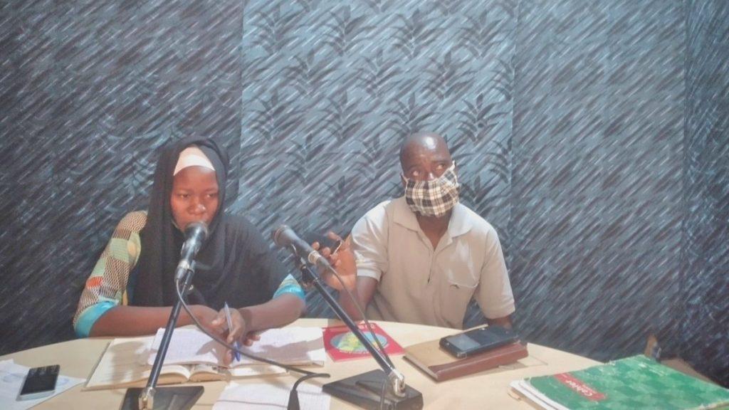 Mathematikunterricht per Radio im Tschad