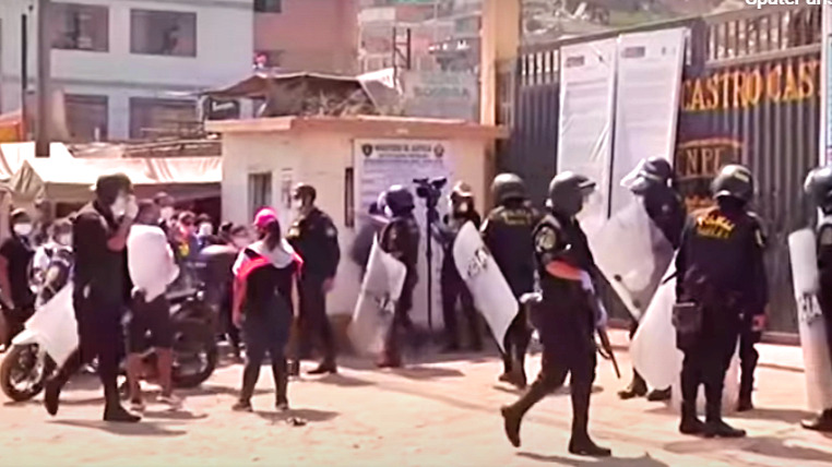 Gefangenenrevolte in Peru: Häftlinge hatten wegen der Corona-Pandemie Verbesserungen der Hygiene und medizinischen Versorgung gefordert
