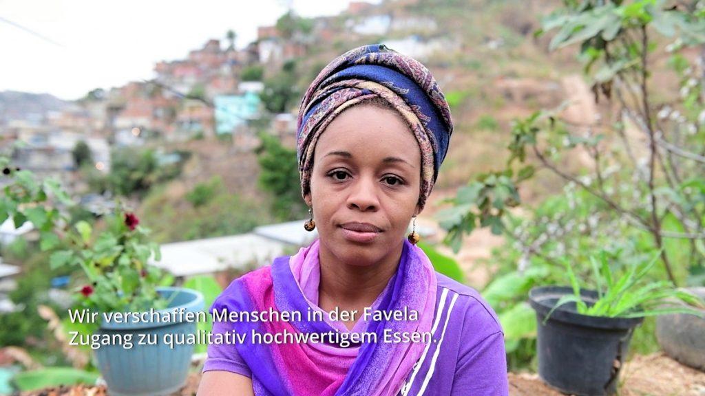 Ana Santos setzt sich in Rio für gute Ernährung ein