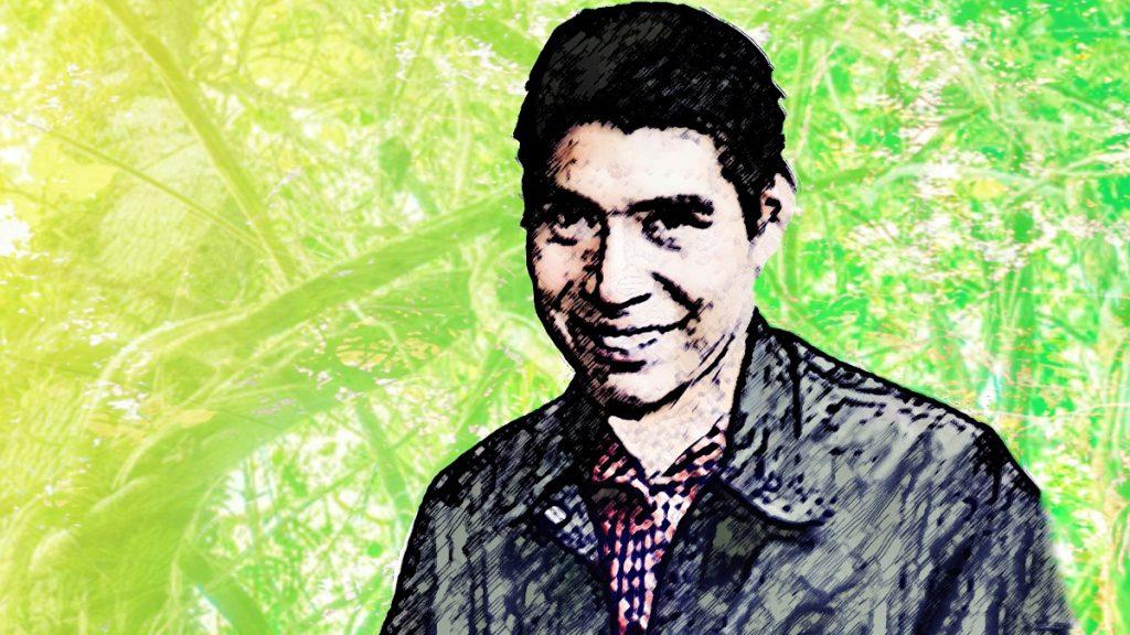 Peruanischer Menschenrechtsaktivist Santiago Valera