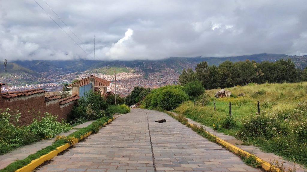Cusco in Peru während des Corona-Lockdowns