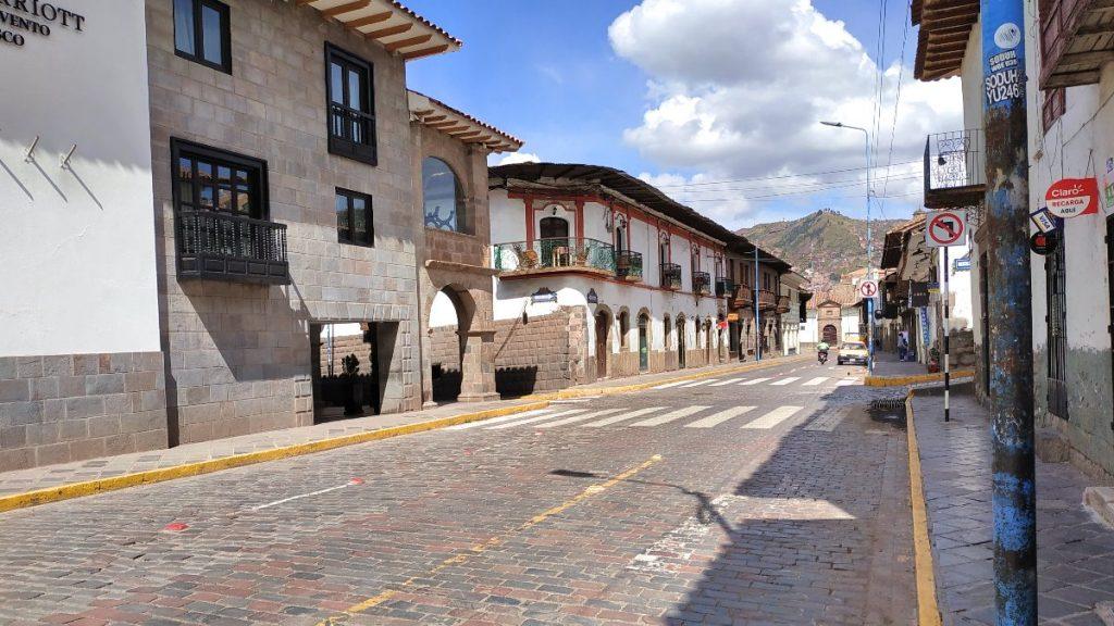 Altstadt von Cusco in der Corona-Krise