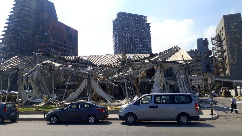 Explosionen in Beirut am 4. August 2020