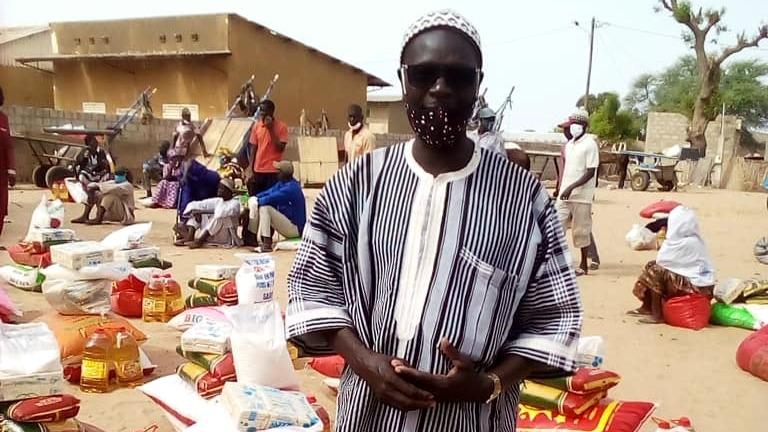 Lebensmittelmarkt im Senegal