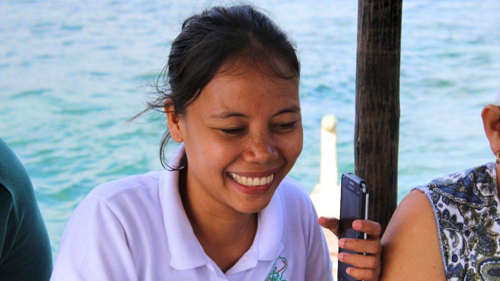 Die philippinische Menschenrechtsaktivistin Zara Alvarez (1981–2020)